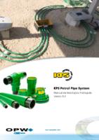 KPS Petrol Pipe System Manual De Instalação