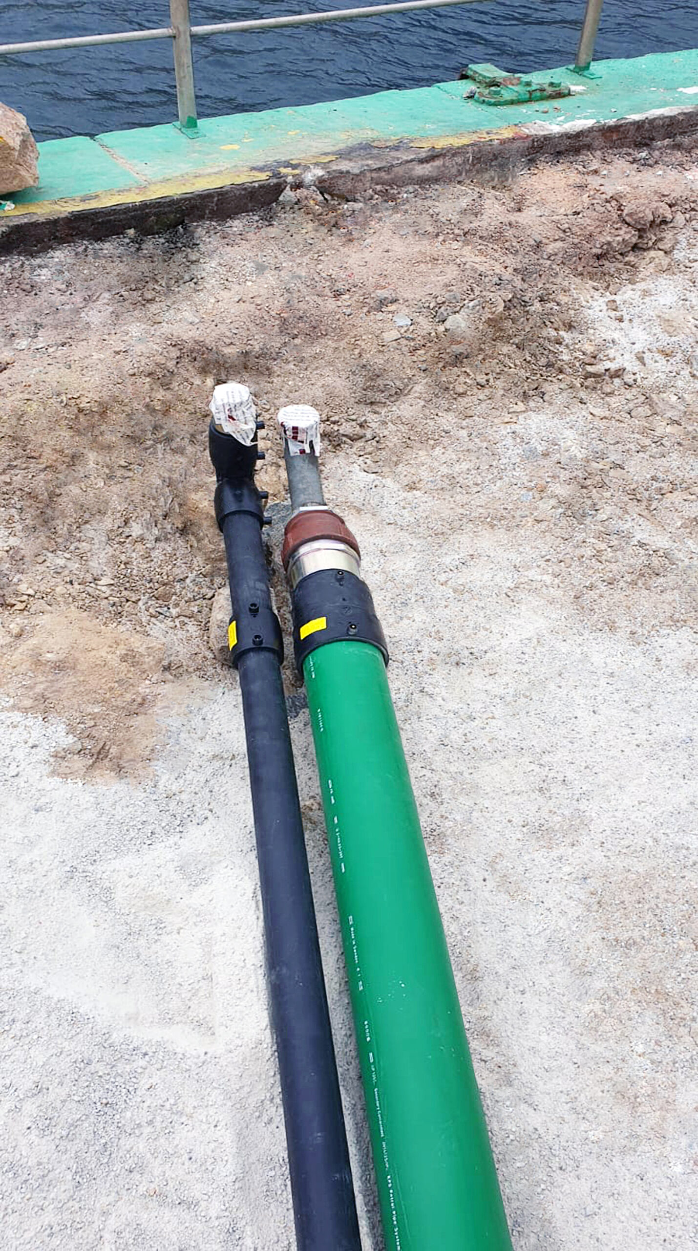 KPS' double wall pipes provide control over the interstitial space between the inner and outer pipes, meaning that a leak can be located and contained quickly