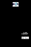 Manufacturing Licence  EN 14125:2013  RINA