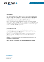 KPS Q & E Policy