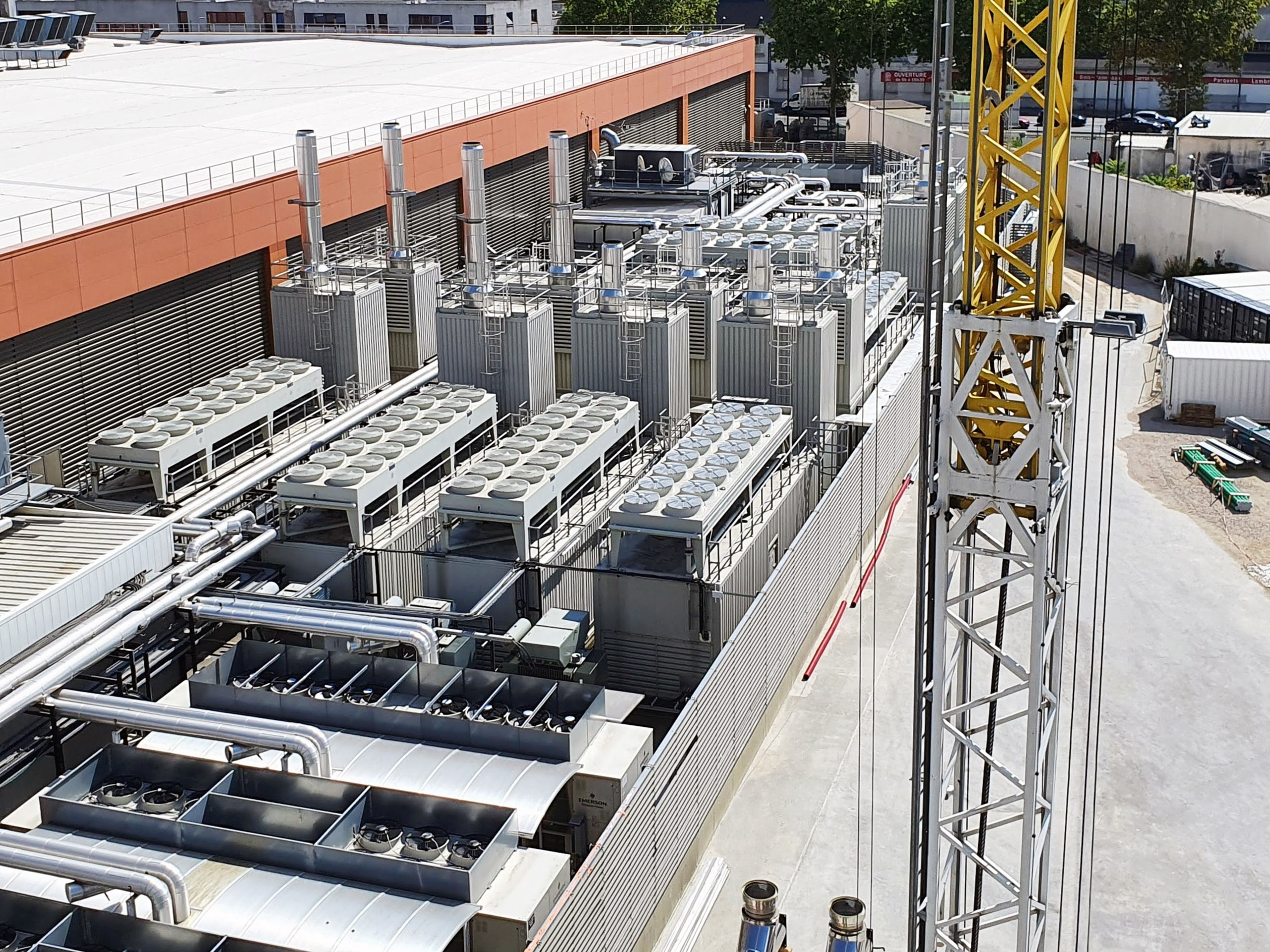 Data centre facilities require a number of backup generators to ensure an uninterrupted power supply