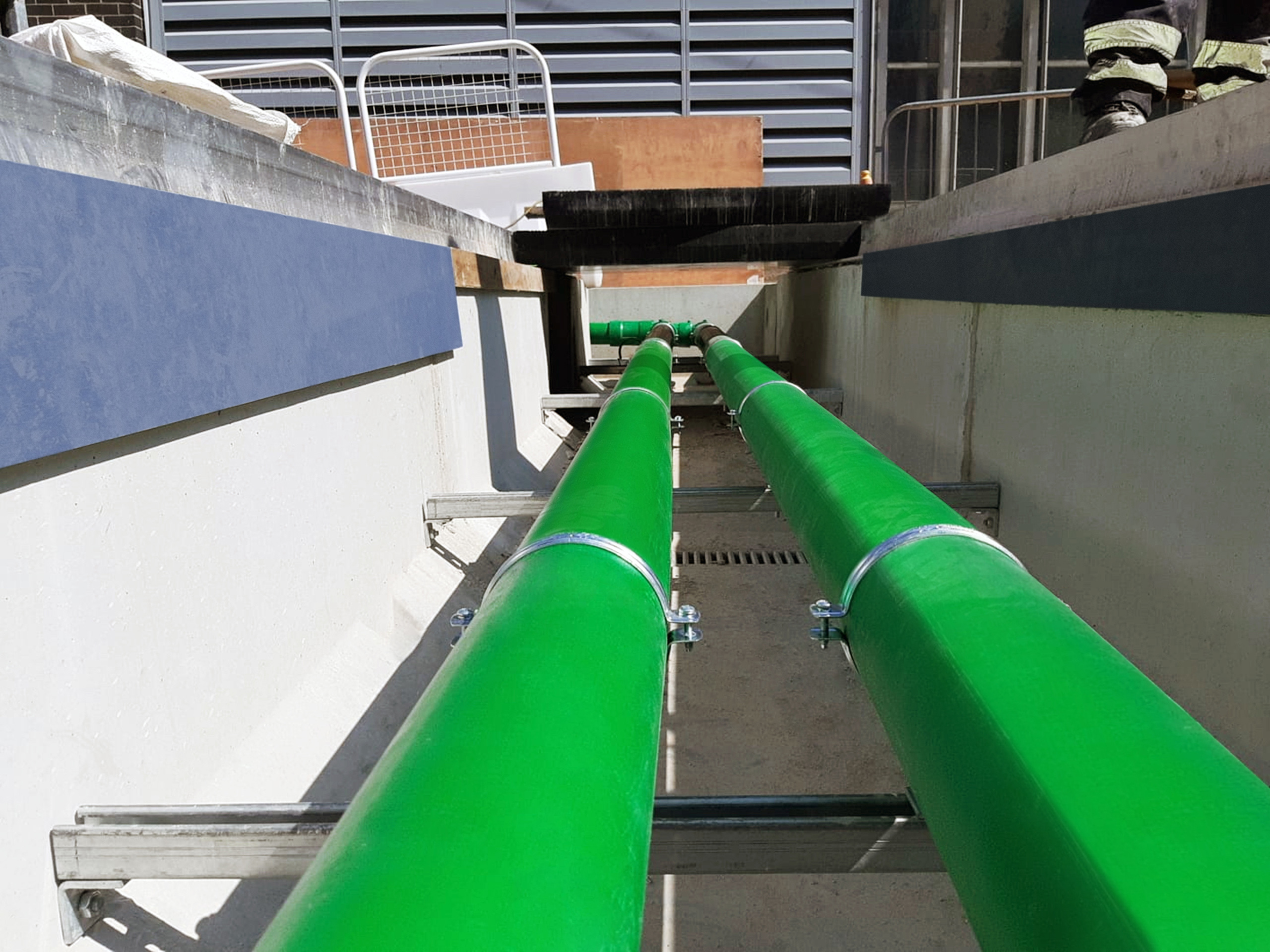 KPS' plastic piping provide a safe, easy-install fluid transfer solution