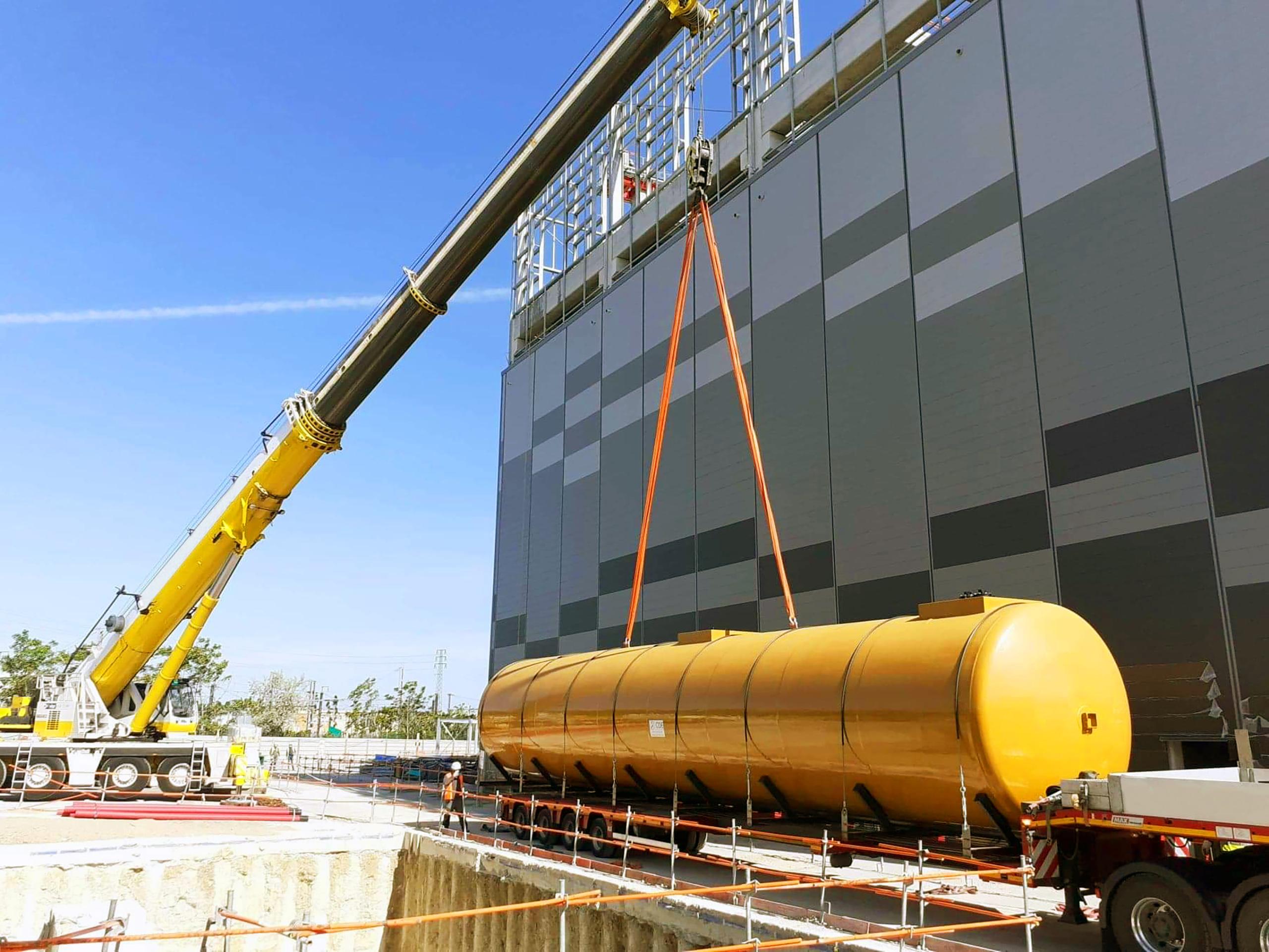 Ce site requiert un système de tuyauterie sûr et fiable