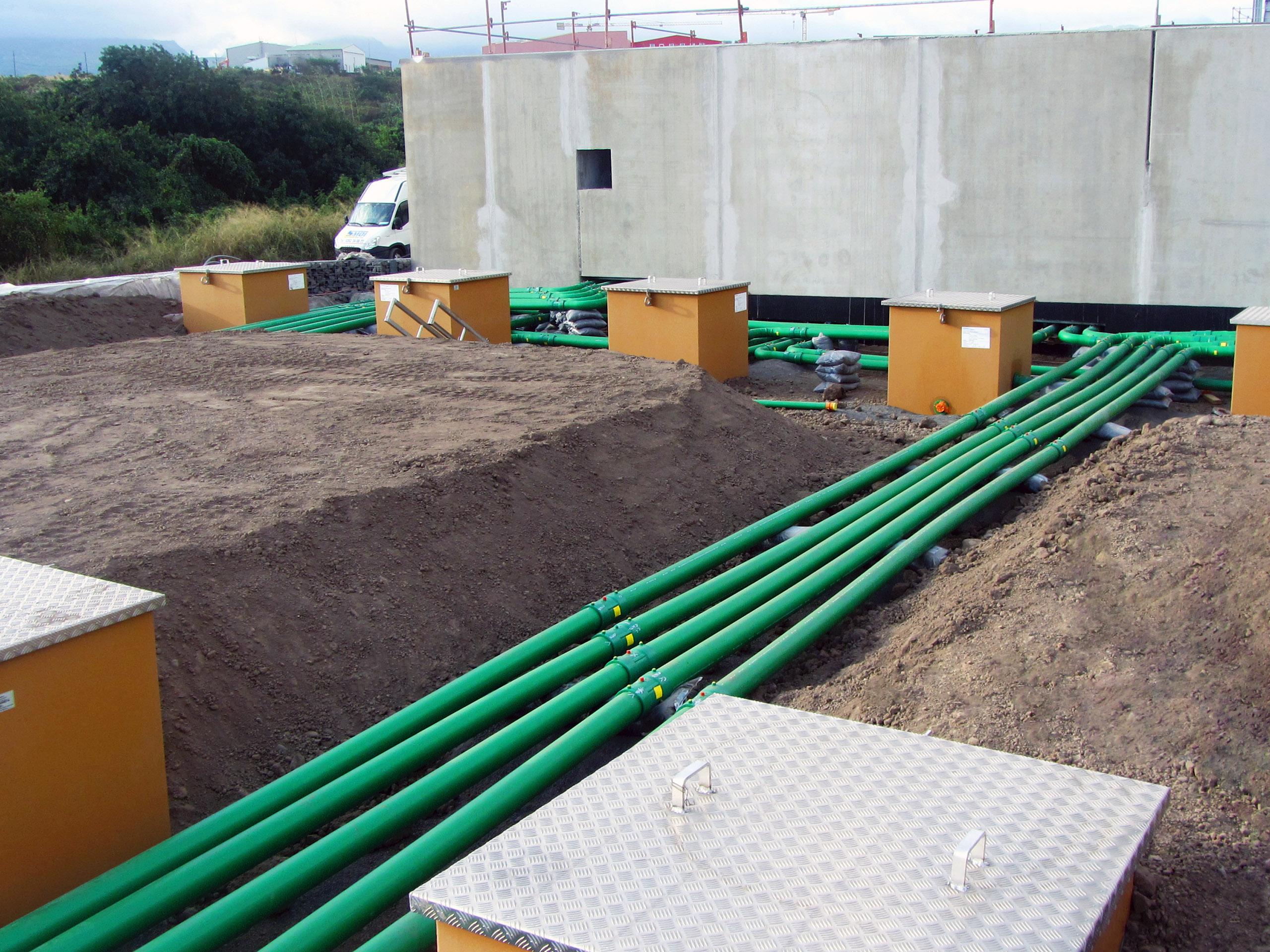 Les tuyaux KPS sont conducteurs et évitent la création et l'accumulation des charges électrostatiques.